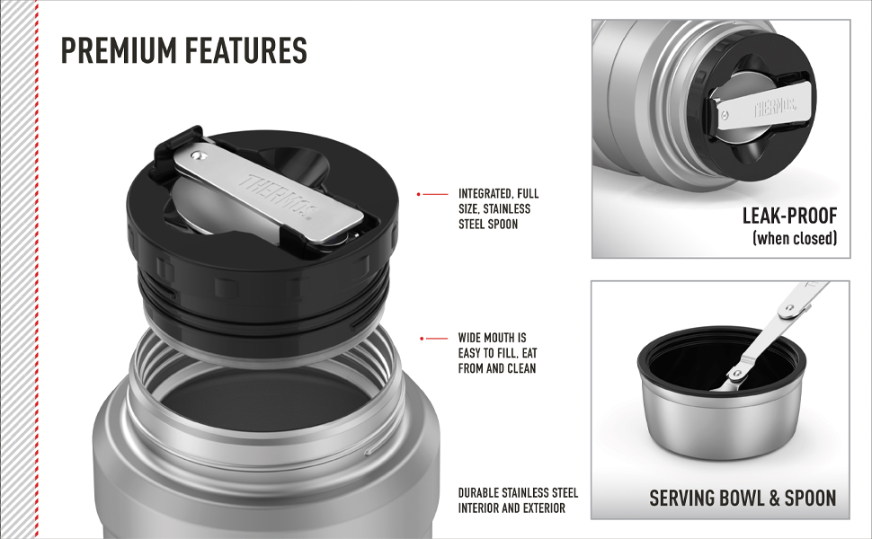 Thermos brand Stainless King collection