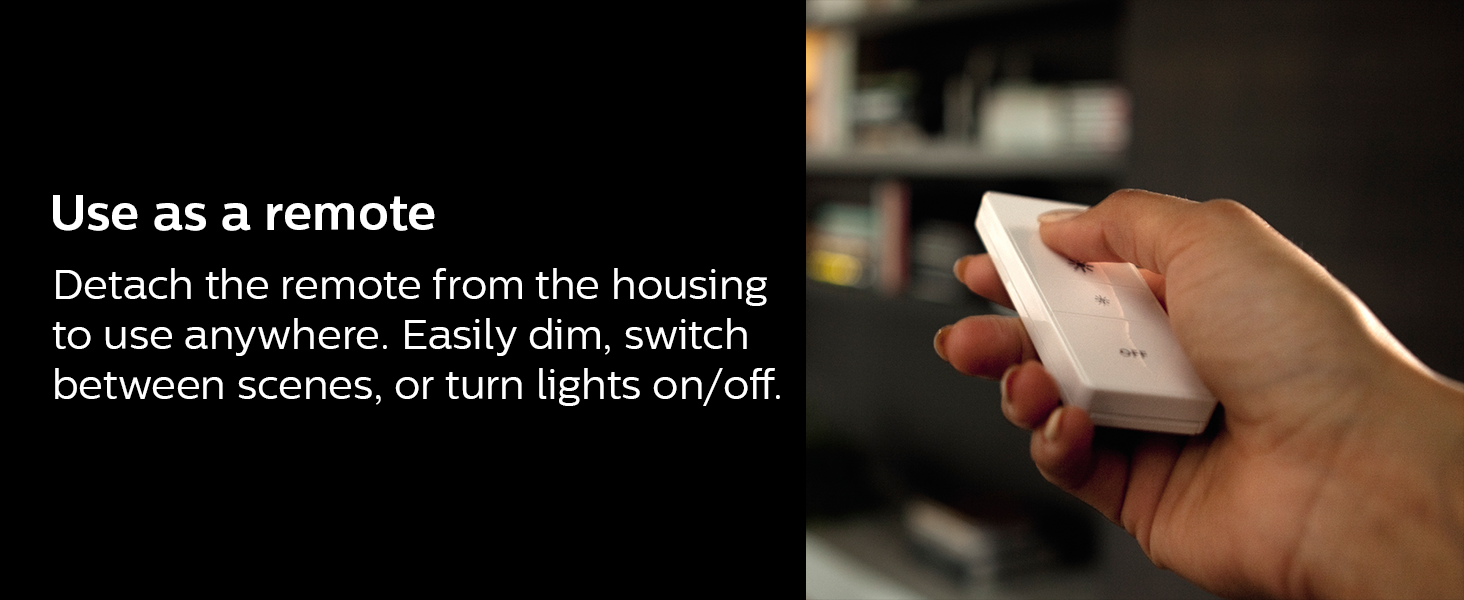 Philips;Hue;smart dimmer;smart lighting;smart home;LED;dimmable;10 bulbs;app control;easy install