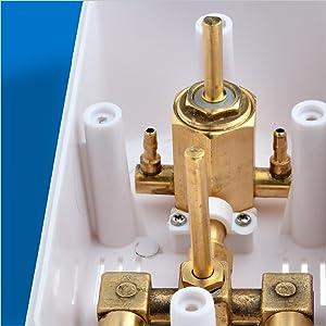High-Quality Solid Brass Internal Valve