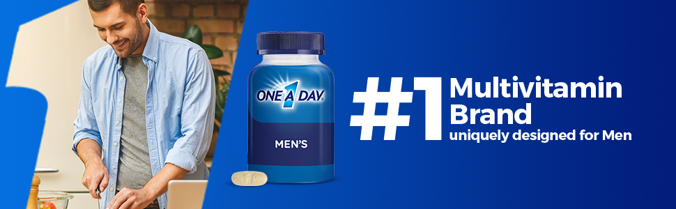 One A Day Mens multivitamin