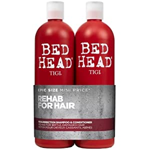 tigi bed head bedhead urban antidotes resurrection shampooing apres-shampooing cheveux abimes