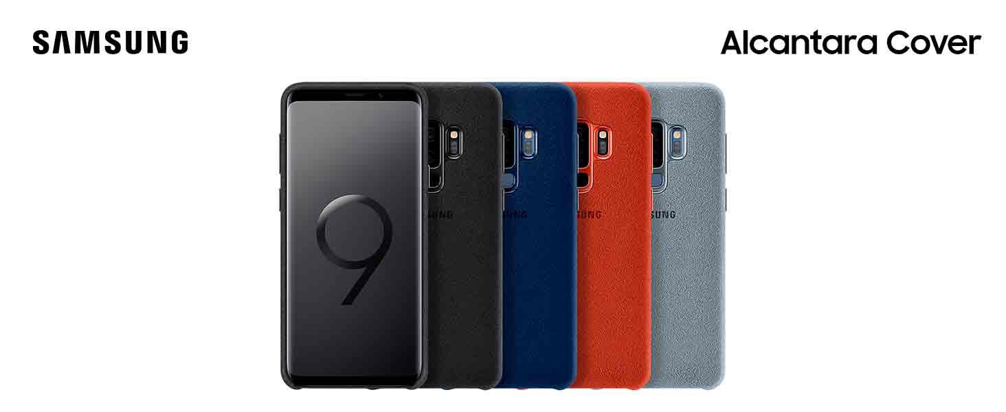 Samsung Alcantara Cover – Funda para Galaxy S9 +, color negro ...