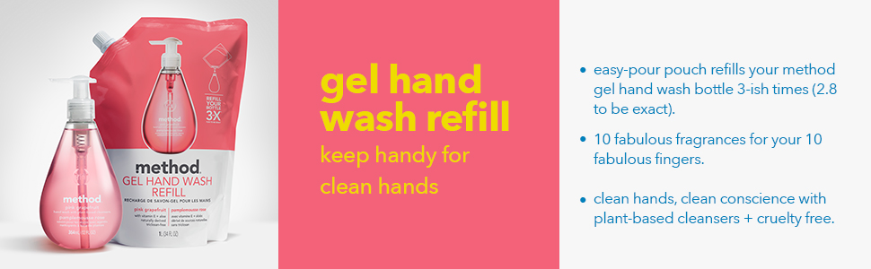 gel hand soap, hand soap refill, hand soap