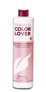 framesi, color lover, moisture rich, moisture shampoo, moisturizing shampoo, framesi shampoo