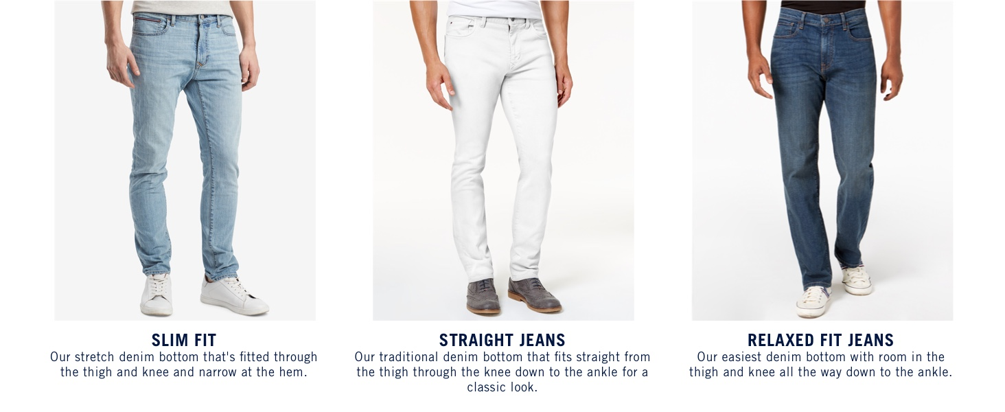 Tommy Hilfiger Men S Thd Slim Fit Jeans At Amazon Men S Clothing Store