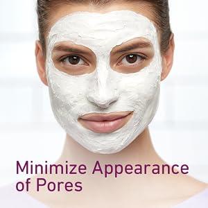 Cetaphil mask minimizes appearance of pores