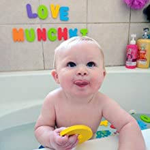 Munchkin Learn Bath Toy 36 Bath Foam Letters And Numbers
