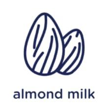 non-gmo diary free almond milk protein shake drink