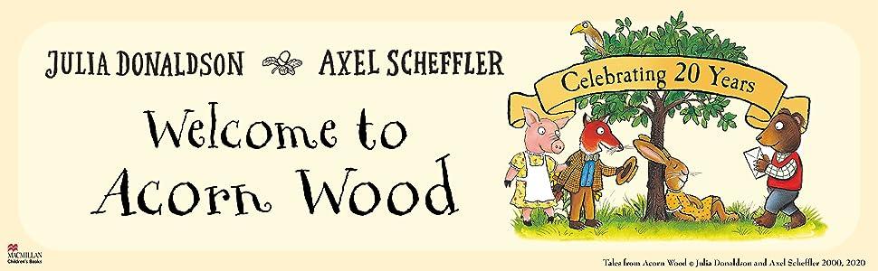 Fox's Socks, Acorn Wood, Anniversary, Julia Donaldson, Axel Scheffler, Anniversary, MCB