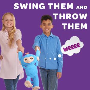 Fingerlings, Fingerlings Hugs, Fingerlings monkey, interactive toy