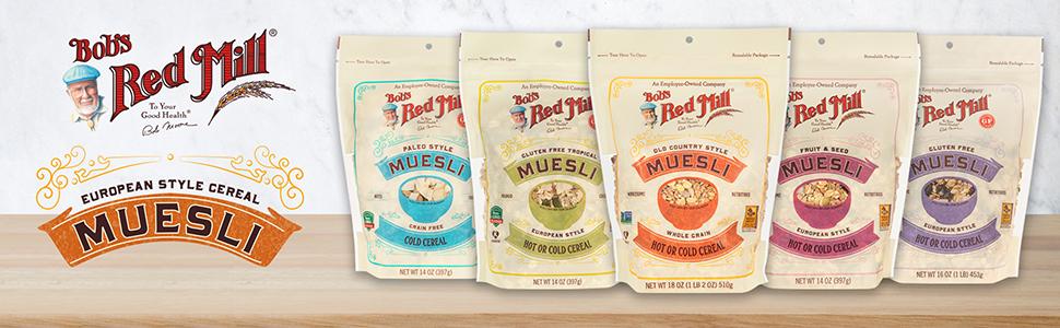 muesli, whole grain,