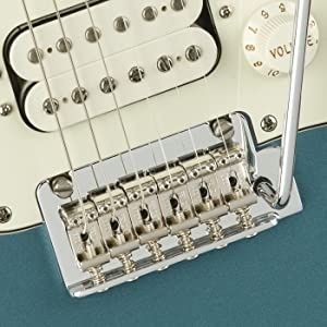 2-Point Synchronized Tremolo with Bent Steel Saddles