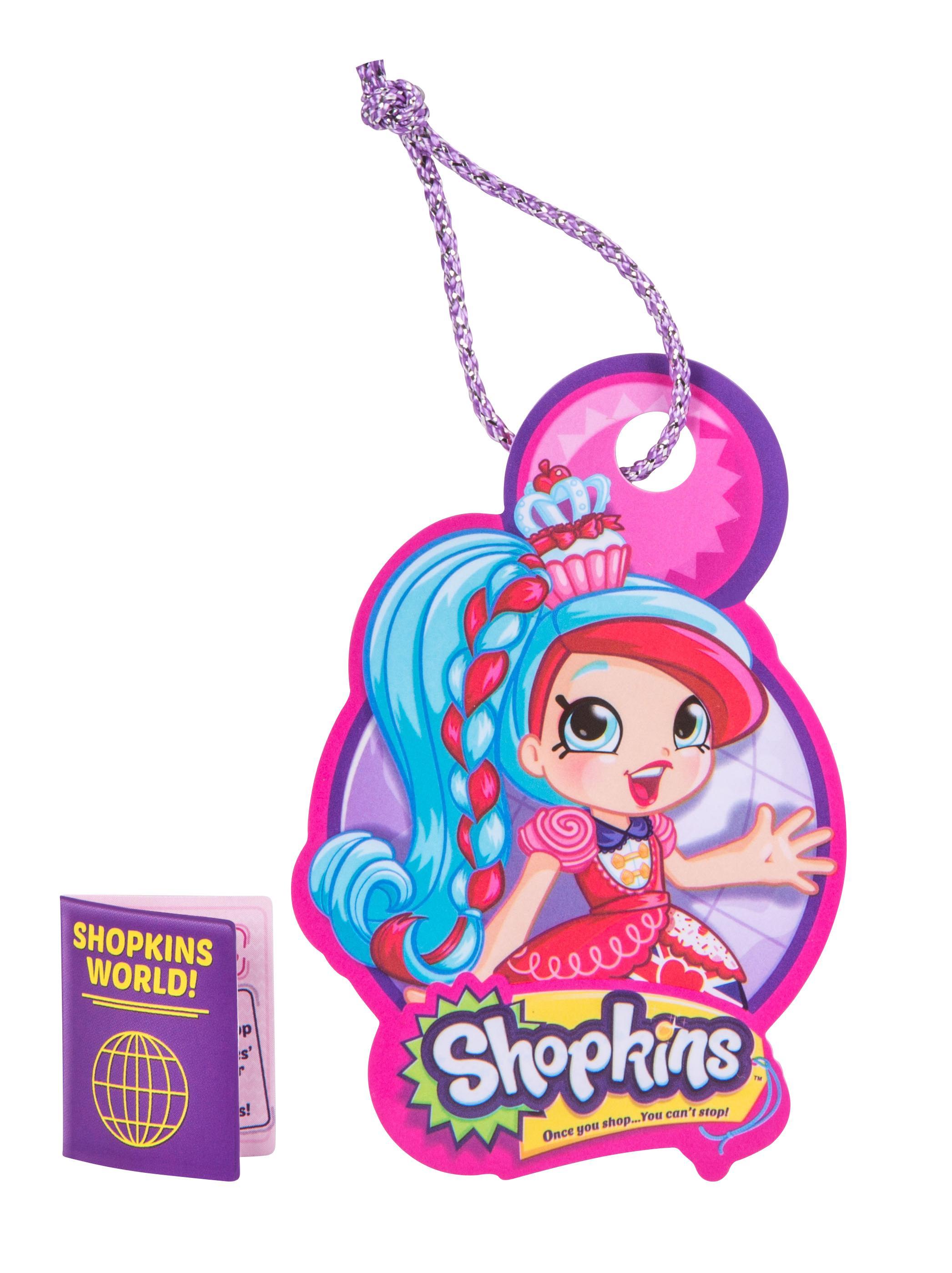 Shopkins Shoppies World Tour Themed Dolls