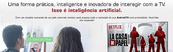 Comando de voz, inteligência artificial