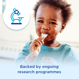 Backed by ongoing research programmes