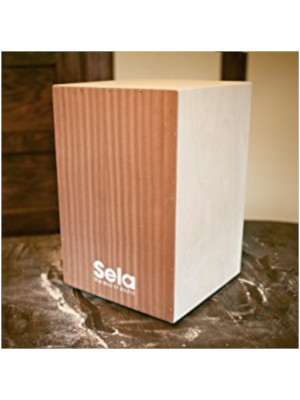 Sela SE001 Cajon Bausatz mit Werkzeug Cajon Schule Lern Buch mit CD NEU SE-001