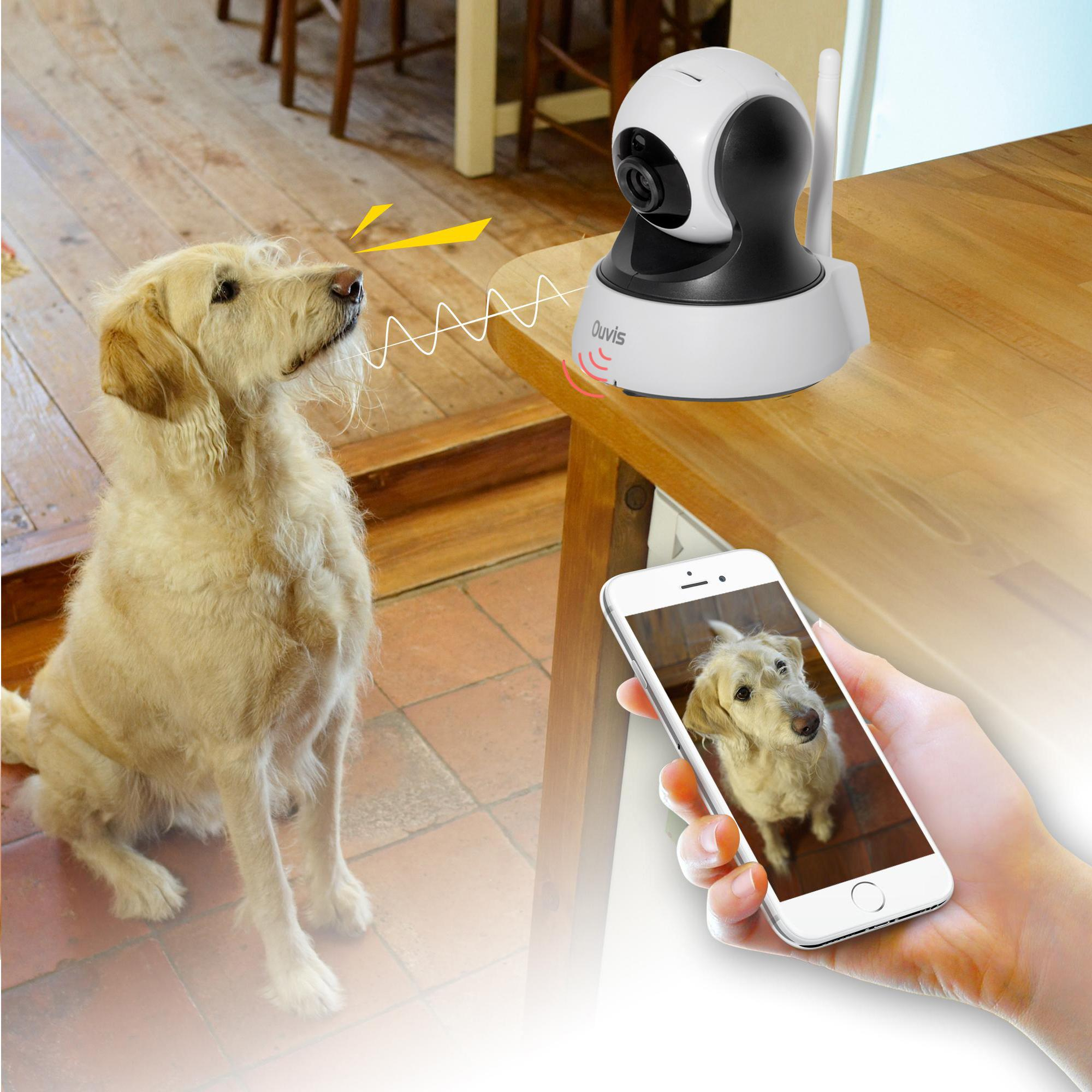 Amazon.com : Ouvis V3 Wireless Security Camera, 720P WiFi ...