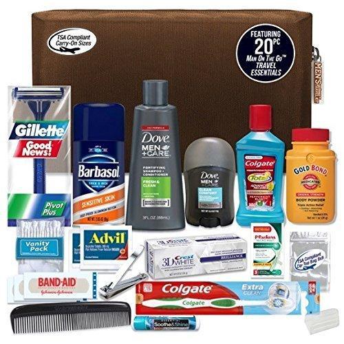 Amazon Com Convenience Kits Men S Premium Necessities Travel Kit Tsa Approved Essential
