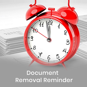 Document Removal reminder