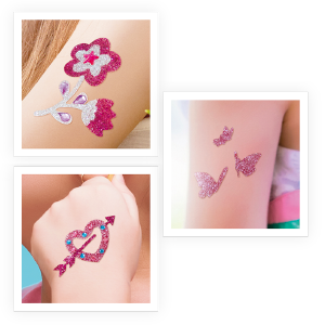 Buki France- Be Teens Tatuajes con Lentejuelas (BE205): Amazon.es ...