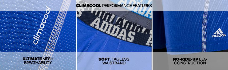quality design a4b5c 39279 ... low price amazon adidas mens sport performance climacool boxer  underwear 65bb6 c6969
