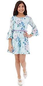 casual dress; dresses for girls 10-12; Easter dress; dress for tweens; 7-16 dress; big girl dress