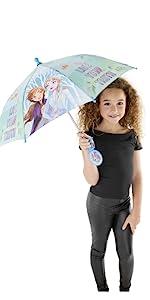 elsa and anna umbrella