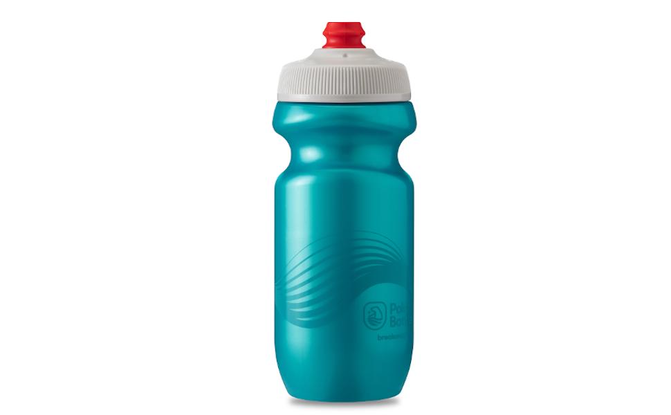 Polar Bottle Carbon Fiber//Blue Bottle BPA Free 24oz Made In USA Pack Of 2