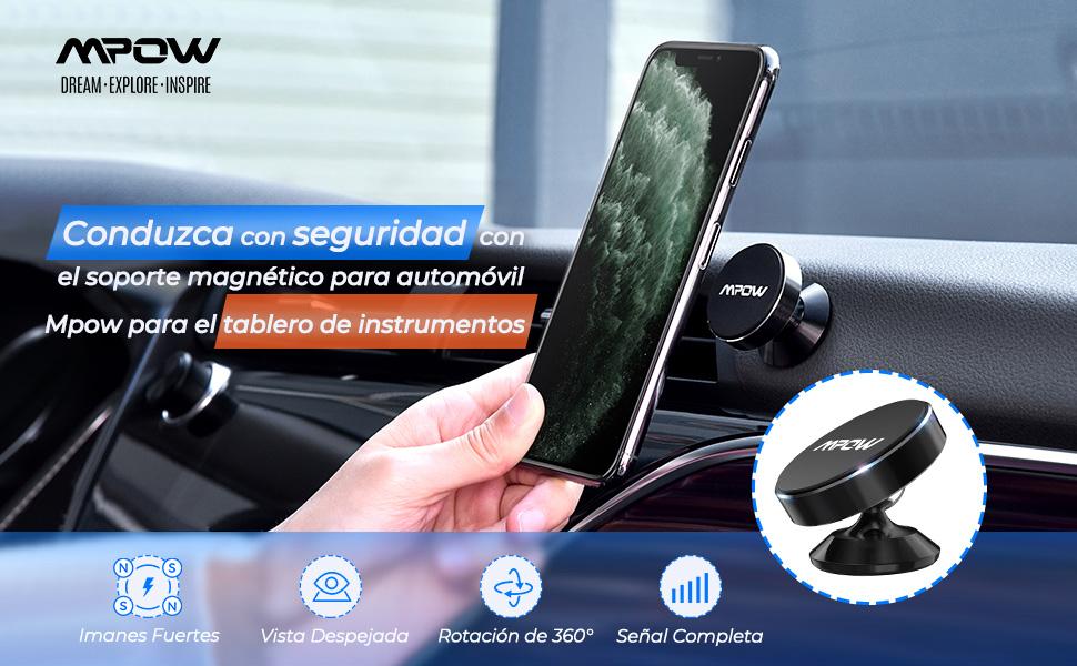 soporte magnetico movil coche soporte magnetico móvil para coche Mini Móvil Coche Iman Salpicadero