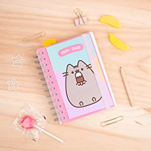 Agenda escolar 2019/2020 día página S Pusheen The Cat