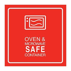 Oven Safe, Microwave Safe, Glass Container