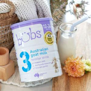 Bubs Australian Milk