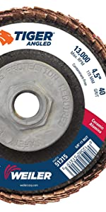 Weiler 51315 Angled Flap Disc