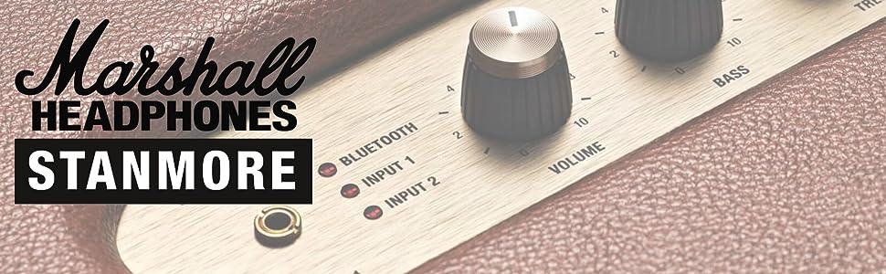 Marshall Stanmore Bluetooth Altavoz Compacto - Crema (UK): Amazon ...