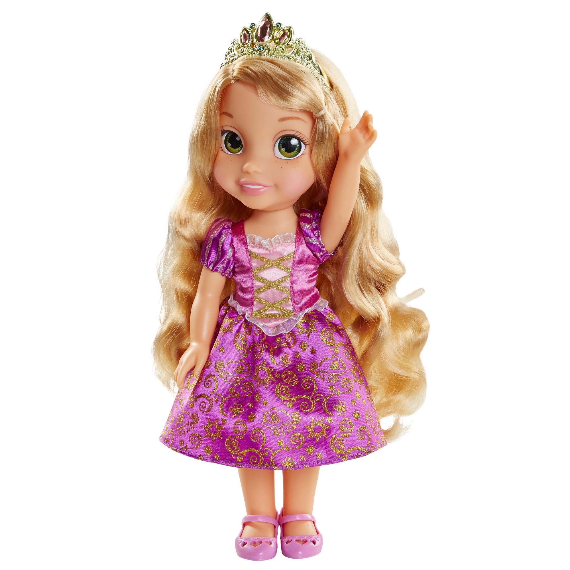 Amazon Com Disney Princess Baby Belle Doll Toys Games: Amazon.com: Disney Princess Rapunzel Toddler Doll: Toys
