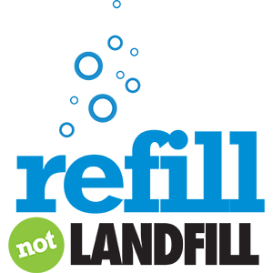 refill not landfill recycle good for earth
