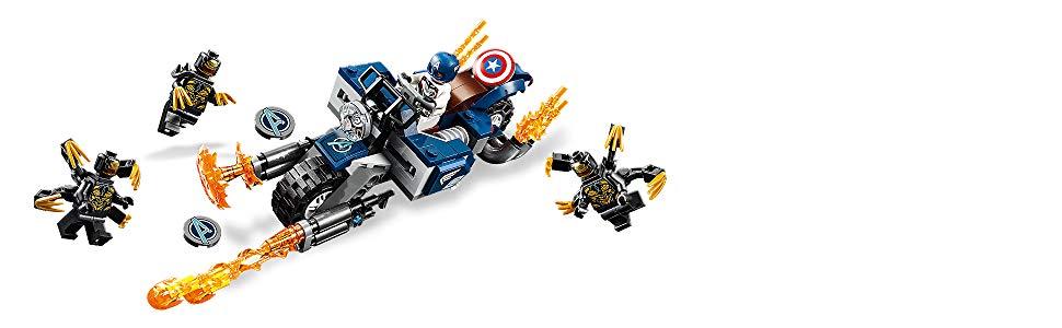 moto capitan américa
