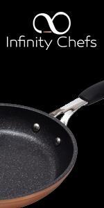 Bergner Q1871 Sartén, Aluminio Forjado, Marrón, 21 cm: Amazon.es: Hogar