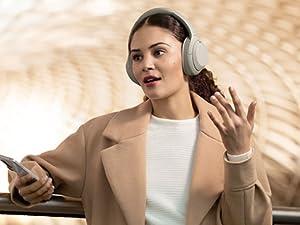 Sony WH-1000XM4, WH1000XM4, 1000XM4, casque bluetooth, casque sans fil, appels mains libres