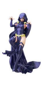 DC COMICS美少女 DC UNIVERSE レイブン 2nd Edition 1/7スケール PVC製 塗装済み完成品フィギュア