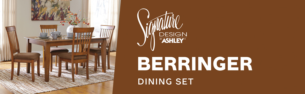 d199 berringer dining room collection set signature design by ashley furniture