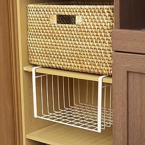 吊戸棚 バスケット 空きスペース デッドスペース