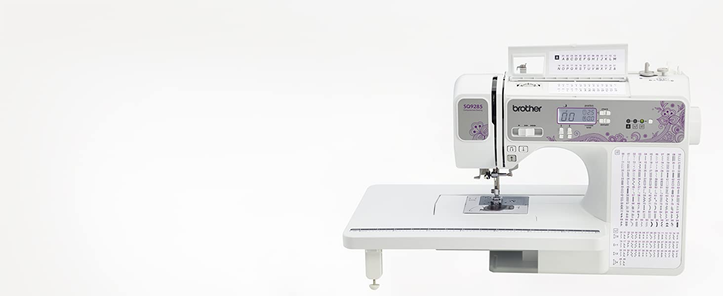 205 Unique Built-in Utility amp; Decorative Stitches