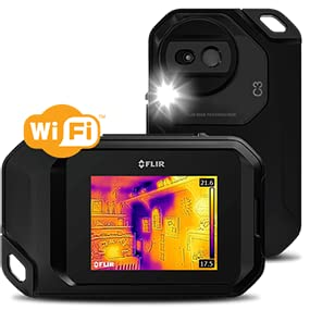 C3, thermal camera, thermal imager, FLIR, infrared, IR camera, IR inspection