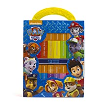 my, first, library, book,block,early,learning,year,old,olds,baby,babies,1,0,2,paw,patrol,chase,skye