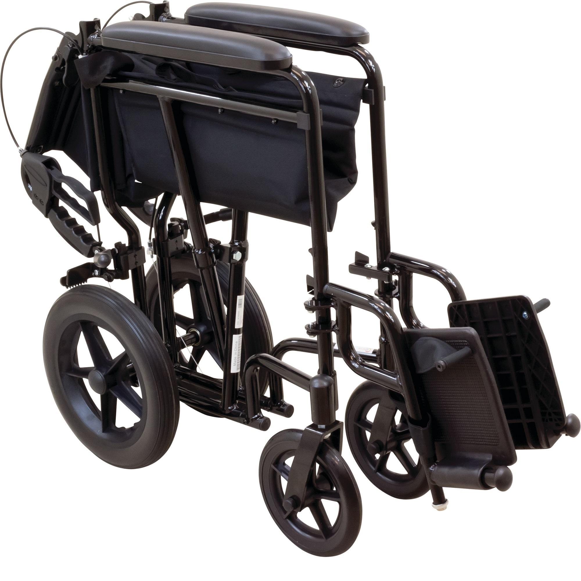 View larger  sc 1 st  Amazon.com & Amazon.com: ProBasics Transport Chair Wheelchair Aluminum 19 ... islam-shia.org