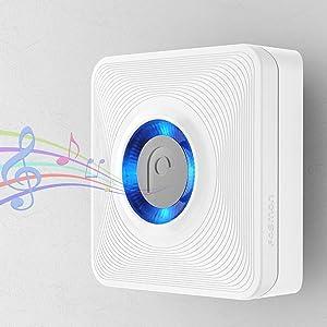 wireless doorbell door bell chime sensor motion alert alarm home safety receiver transmitter & Amazon.com: Fosmon WaveLink 51004HOM Wireless Door Open Chime ... Pezcame.Com