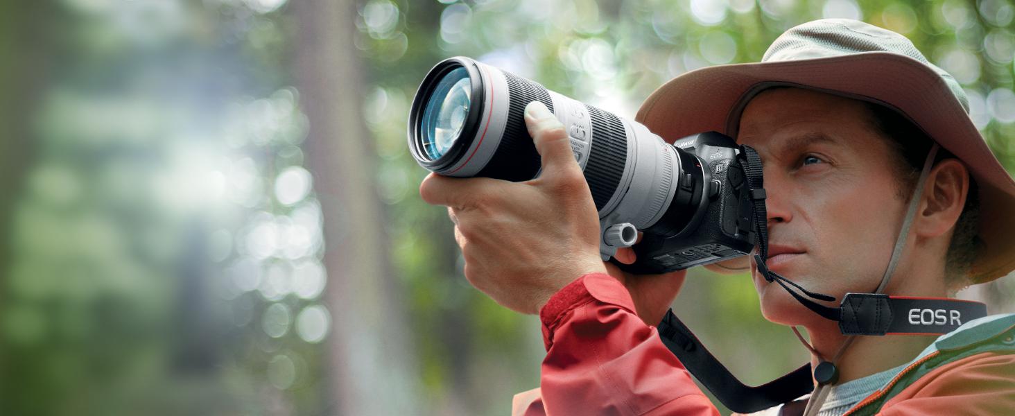 canon eos r photographer of birds