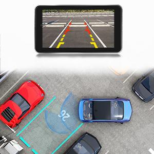Dual Dashcam Front Und Heckkamera Full Hd 1080p Auto Armaturenbrett Kamera Mit Nachtsicht 10 2 Cm Touchscreen 170 Weitwinkel G Sensor Loop Aufnahme Park Monitor Bewegungserkennung Navigation
