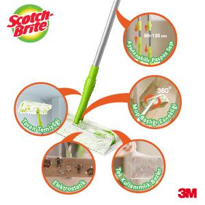 silsüpür, q600, mop, kullan at, ahşap, fayans, toz toplar, pratik, temizlik
